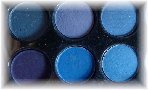 Lidschatten blau