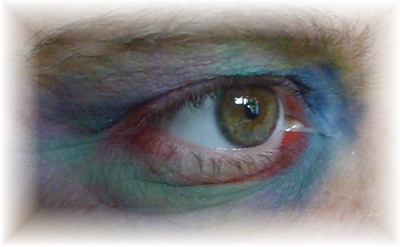 Augen Make Up  Halloween